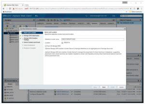 ایجاد خوشه دیتا استور در VMware vCente