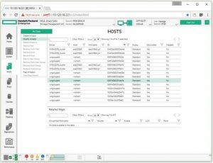 تصویری از پیکربندی میزبان HPE MSA SMU