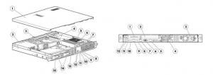 سرور HPE ProLiant DL320e Generation 8 (Gen8) v2