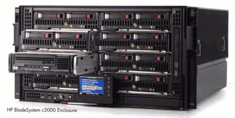 HP_BladeSystem_c3000_blade_system_enclosure
