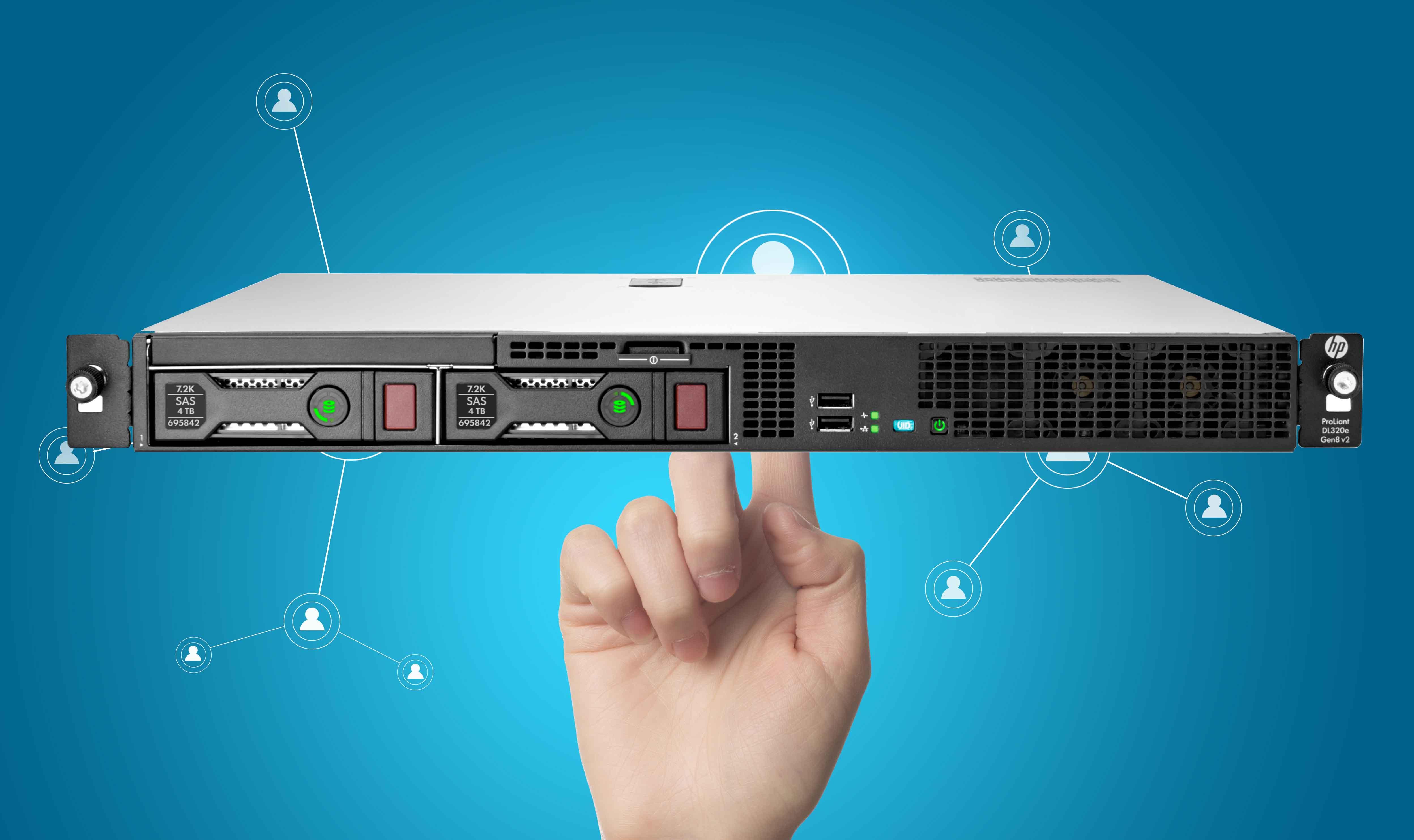 سرور HPE ProLiant DL320e Gen8