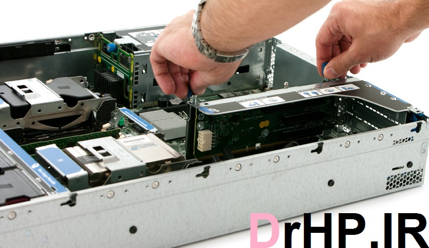 StorageReview HP ProLiant DL380p Toolless - رایزر در سری سرور های G8 380