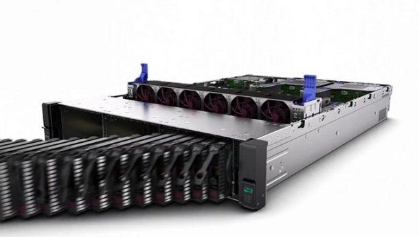 maxresdefault a 610x345 - نگاهی کوتاه به سرور HPE DL380p Gen10